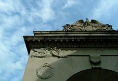 Brown University, Providence, RI (haikuluke) Tags: brownuniversity brown providence ri archway architecture angel eagle