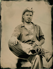 """Steve"" (Zmanphoto) Tags: tintype ambrotype collodion wetplate alternativeprocess  copyright"