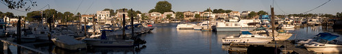 Sheepshead Bay Docks Panorama