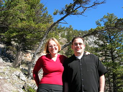 My student - John (monkeys with tails) Tags: 2005 banff milena canux