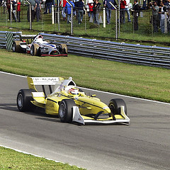 "Team Malaysia Car<br /><span style=""font-size:0.8em;"">Team Malaysia's car being driven by Alex Yoong at brands Hatch during the first A1GP race.</span> • <a style=""font-size:0.8em;"" href=""https://www.flickr.com/photos/87605699@N00/46901303/"" target=""_blank"">View on Flickr</a>"