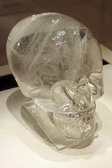 The Crystal Skull (Sarahphim) Tags: london september2005 britishmuseum crystalskull skull crystal