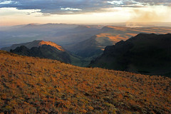 Steens and Alvord Desert Beyond - by lyzadanger