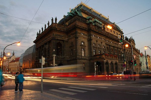 National Theater in Prague by cuellar