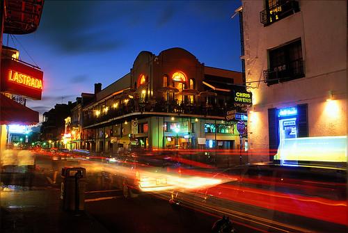 Evening on Bourbon Street
