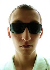 Sickr (sjon) Tags: light portrait selfportrait home me backlight glasses frontal 1on1 top20fav interestingness178 i500 mytop10favorites mytop10comments