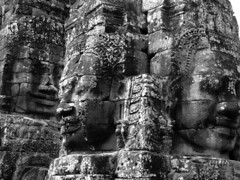 Faces of Bayon (mboogiedown) Tags: world travel heritage wonder asian ancient asia cambodia king cambodian khmer faces god buddhist faith religion culture buddhism holy sacred southeast angkor wat hindu hinduism relgious cultural bayon kampuchea mapcambodia cambogia theravada travelforpeace jayavaraman camboge beatravelernotatourist dontjustseetheworldexperienceit experiencecambodia buddhistnations
