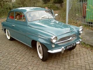 1960 Skoda Octavia Spartak