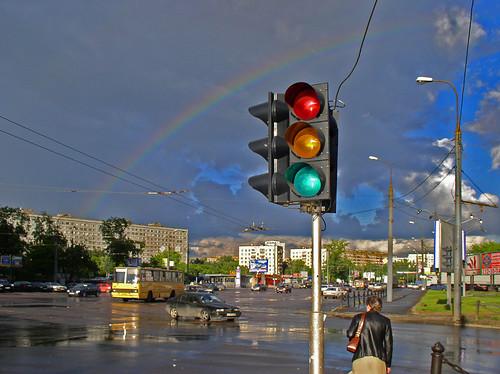 Москва. После дождя.