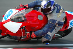 Red 99 (frielp) Tags: brands hatch motorbike racing honda 99 surtees corner kent england uk 70200mm 14tc d70 nikon