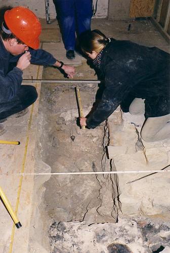 Domgrabung Osnabrück 2002