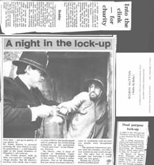 Police-Newspaper (Robin Hutton) Tags: africa england robin edinburgh kenya police rob east photograph oxford hutton alasdair frederick 1953 tvp wheatley thamesvalleypolice robinhuttonart
