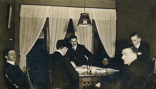 Early Staff Meeting 1910s