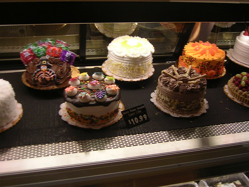 Cakes At The Safeway Bakery Department