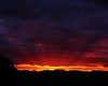 last rays of the day (EssjayNZ) Tags: 2005 pink sunset red newzealand night 510fav golden glow rays essjaynz tirau southwaikato taken2005 fcsetsrises sarahmacmillan
