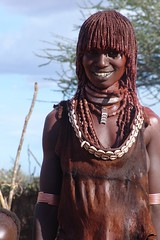 Hammer woman (CharlesFred) Tags: africa red people woman expedition nature smile leather hammer river beads mud skin african south shell tribal rafting hide favourites copper tribes afrika remote ethiopia favourite myfavourites afrique 100000 omo eastafrica 021006 twohundred southomo omoriver charlesfred charlesroffey 133000 southernethiopia raftingexpedition remoteriver remoteriverexpeditions omoriverpeople omorivertribes twohundredfavourites
