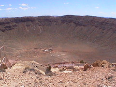Meteor Crater (Joe_B) Tags: california trip canon geotagged favorites science crater meteor meteorcrater yourfavorites shot81 2003april roll10143 zr45 image:Shot=81 image:Rating=2 event:Type=science event:Group=maxwell address:Tag=meteorcrater event:Code=200304cm image:Roll=10143