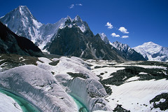 Velvia50-26 (Kelly Cheng) Tags: pakistan mountain glacier velvia concordia getty gasherbrum4 trekday8concordia goldenthrone summitgasherbrumiv altitude7925m elevation75008000m summitgoldenthrone altitude7312m elevation70007500m mountainshimalaya gettysale pickbykc 89996367 gi1006 gi1111 gi1204