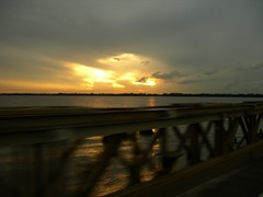 Demerara Bridge sunset