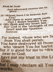 Psalm 73:25 - by shutterbugchik
