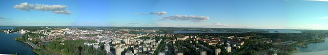 Tampere from above