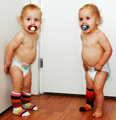 Fashion twins (joyrex) Tags: topv111 510fav fantastic twins highcontrast explore toddlers