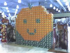 Fanta-stick pumpkin
