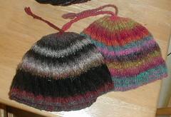 One Skein Noro Spiral Brim Hat
