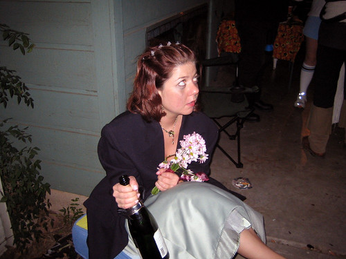 drunk bridesmaid