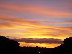 Sunset in Algarve (Joana S.) Tags: sunset portugal algarve pordosol almancil cores colors