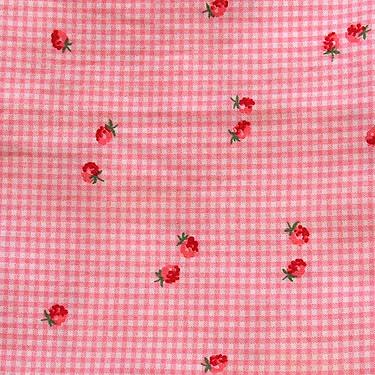 OGBB fabric strawb check
