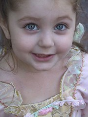 Blue (secondhand me) Tags: 2005 halloween elizabeth tc28closeup