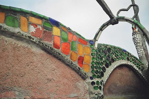 Detalle de los mosaicos