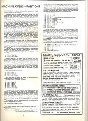 Interface p3 (ajpegg) Tags: computer pc 1981 uk magazine zx80 zx81 acorn atom software