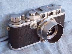 Leica IIIa (1937 vintage) with Elmar 35mm lens (jiulong) Tags: camera leica leitz elmar35mm