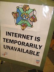 Internet is Temporarily Unavailable