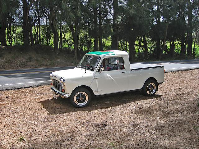 austin hawaii 1974 mini pickuptruck morris hawi minitruck minipup minipickup