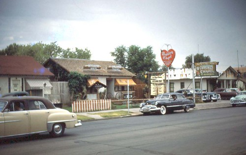 Las Vegas Wedding Chapels Mid 1950's by avaloncm.