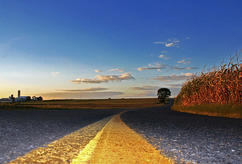 The Long Road - Flickr photo by Ohad