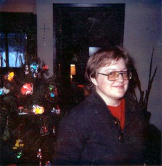 At my brothers house, December 1984, a few months after being fired from the Book Cache