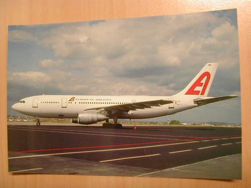 European Airlines Postcard #1