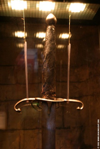 william wallace sword. William Wallace Sword - closeup