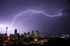 Finding Earth (Leorex) Tags: city storm night blog interestingness1 sydney australia nsw lightning topv9999 fcl pc2000 outthewindow topf400 auspctagged top20lightning ostrellina
