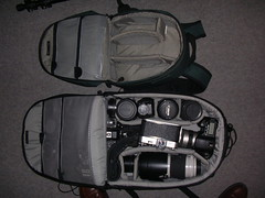 New camera bag. (_nod) Tags: computrekker lowepro camera 10d canon bag camerabag lens lenses cameras