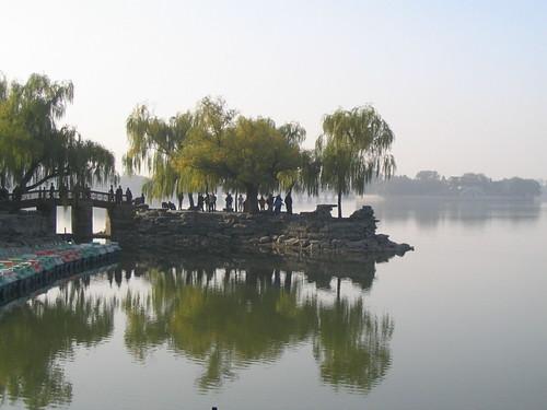 Summer Palace bridge and lake