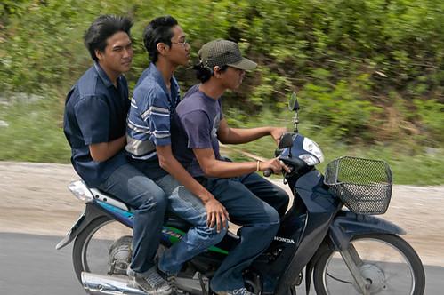 Viaje en Motocicleta a lo largo de Tailandia