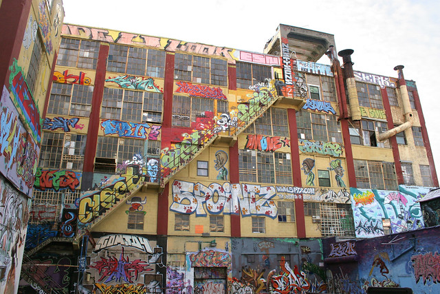 5 Pointz yard