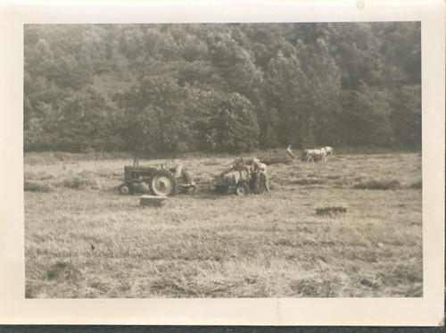 Rural scene Ohio 1951