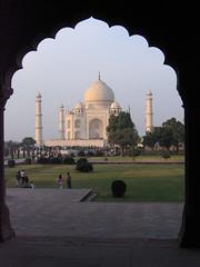 Taj Mahal - framed
