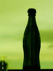 (jamile ...) Tags: sky bottle coke silhouete shape